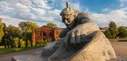 Брестская крепость в Белоруссии