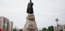 Памятник Е. П. Хабарову