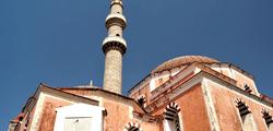 Мечеть Сулеймана в городе Родос