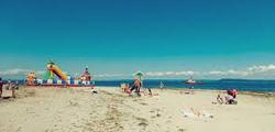 Пляж на мысе Кунгасный