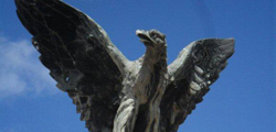 Памятник Орел в Старой Руссе