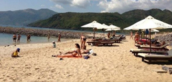 Пляж отеля «Парагон»