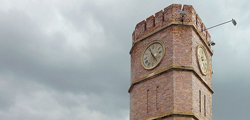 Башня с курантами в Оренбурге