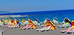 Пляж города Родос