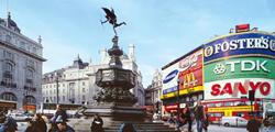 Площадь Пикадилли-серкс в Лондоне