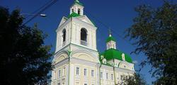 Благовещенская церковь в Красноярске