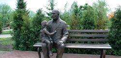 Памятник Ветерану-победителю