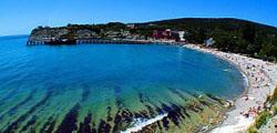 Пляж Голубая бухта в Геленджике