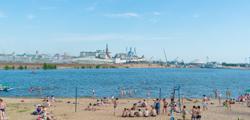 Пляж «Локомотив» в Казани