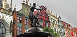 Фонтан Нептуна в Гданьске