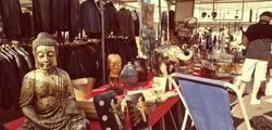 Блошиный рынок в Тиргартене