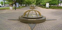 Памятник «Полоцк — географический центр Европы»