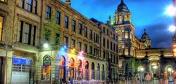 Район Merchant City в Глазго
