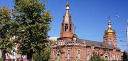 Никольская церковь в Барнауле