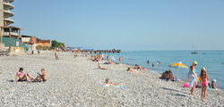 Пляж санатория «Бирюза»