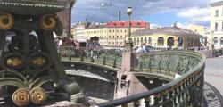 Театральный мост в Санкт-Петербурге