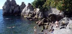Пляж в бухте Чехова
