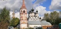 Церковь Антипия в Суздале