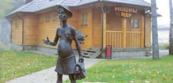 Памятник «Банщик» в Минске
