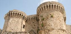 Стены и ворота города Родос