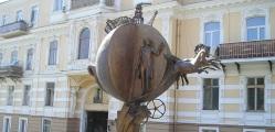 Памятник Апельсину, который спас Одессу