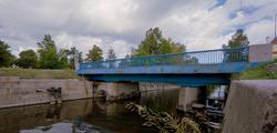 Синий мост в Кронштадте