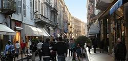 Улица Маттеотти в Сан-Ремо