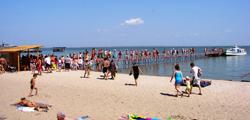 Детский пляж в Ейске