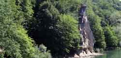 Адов водопад в Горячем Ключе