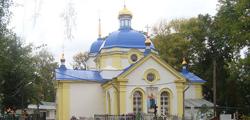 Спасо-Преображенская церковь в Липецке