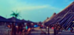 Соломенный пляж