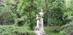 Сад Чишмиджиу в Бухаресте