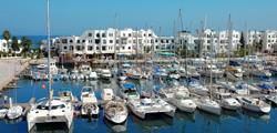 Яхтенный порт Ясмин-Хаммамета
