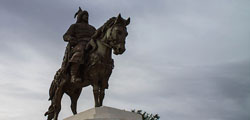Памятник Убаши-хану