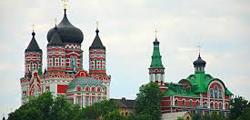Свято-Пантелеймоновский монастырь в Феофании