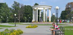 Александровский сад в Тобольске