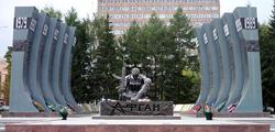 Чёрный тюльпан в Екатеринбурге
