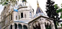 Петропавловская церковь в Карловых Варах