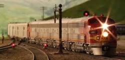 Музей железнодорожного моделизма в Сан-Диего