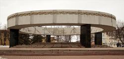 Мемориальный комплекс «Вечный огонь» в Тамбове