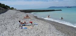 Центральный пляж Кабардинки