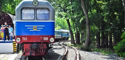 Детская железная дорога в Оренбурге