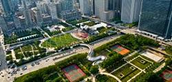 Миллениум-парк в Чикаго