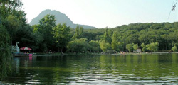 Курортное озеро в Железноводске