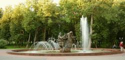Кремлевский парк Великого Новгорода