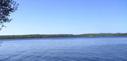 Озеро Безымянное в Красном Селе