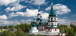 Крестовоздвиженская церковь Иркутска