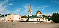Вознесенский кафедральный собор в Новосибирске