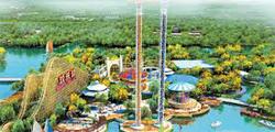 Парк развлечений «Долина счастья» в Шанхае