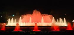 Поющие фонтаны La Fuente Magica de Montjuic